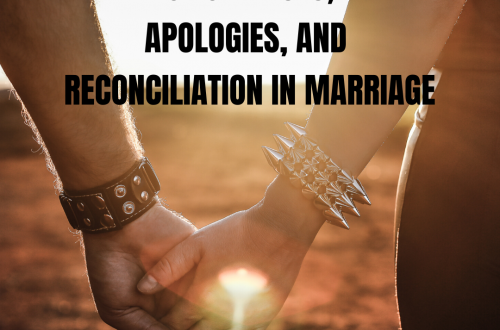 Apologies in Marriage