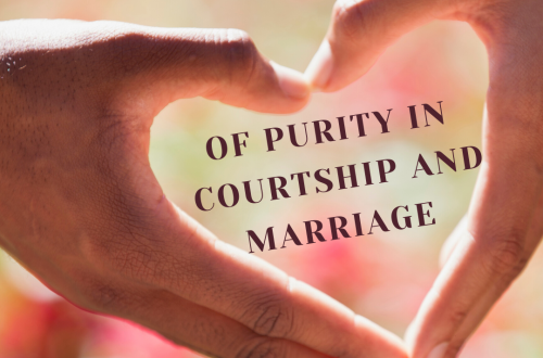 Purity in courtship